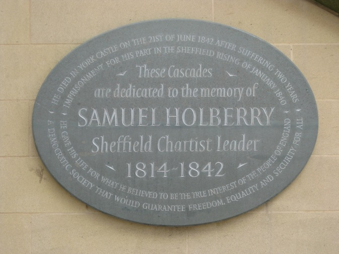 Holberry Plaque