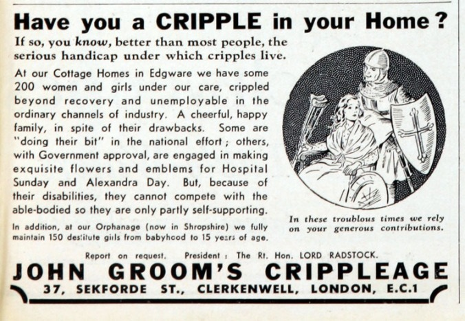 Crippleage Advert