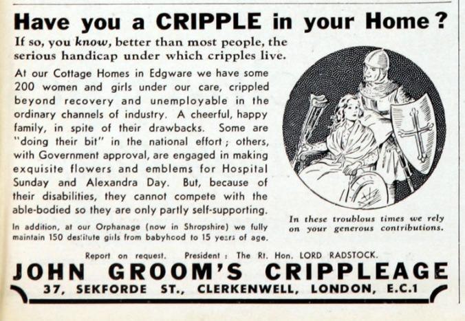 Crippleage Advert