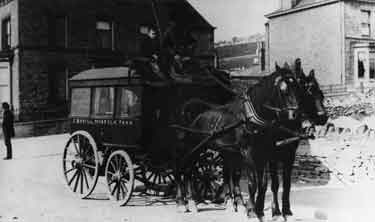 Funeral Hearse Sheffield 1901