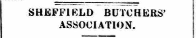 Sheffield Butchers' Association